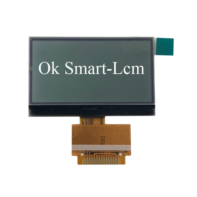 Stn Yellow Blue LCD Segment Display For Ammeter Graphic 128x64