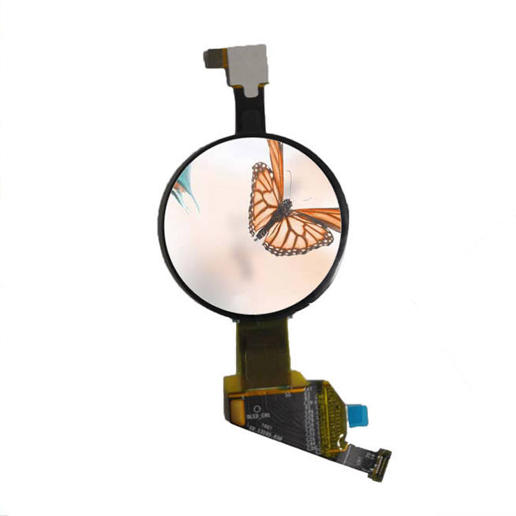 1.39 Inch Round OLED Display , Small Size Circular OLED Display 400 X 400 Resolution